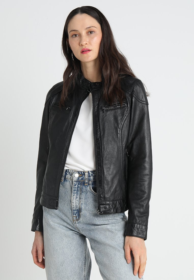Oakwood - LINA - Leather jacket - black