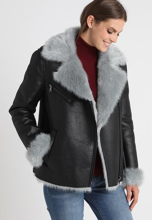 SHOCK - Winter jacket - black