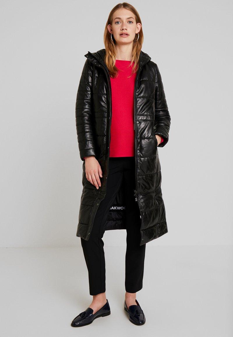 Oakwood - EXTRA - Płaszcz wełniany /Płaszcz klasyczny - black
