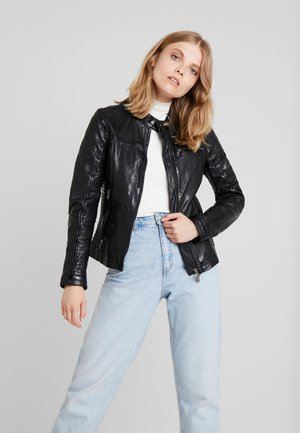 PLAY - Leather jacket - black