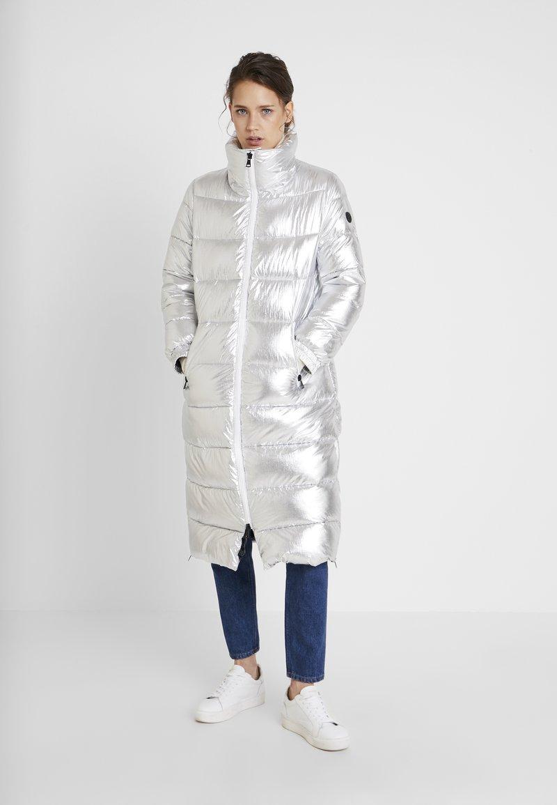 Oakwood - SPIRITUAL - Zimní kabát - silver