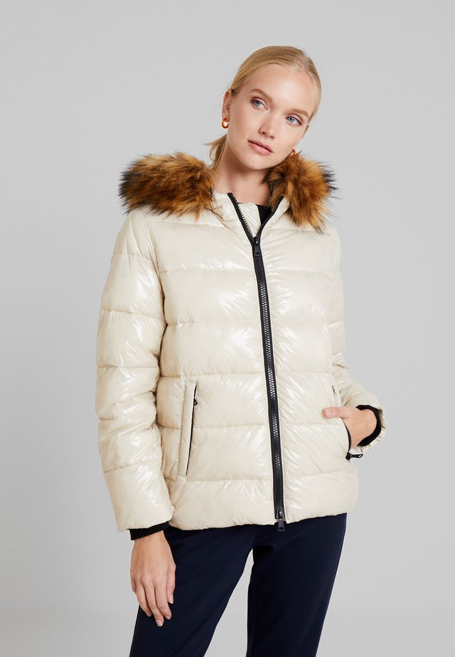 UNITY HOOD - Winter jacket - ivory
