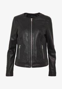 Oakwood - MICHELLE - Leather jacket - black - 4