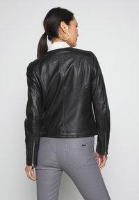 Oakwood - MICHELLE - Leather jacket - black - 2
