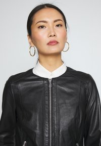 Oakwood - MICHELLE - Leather jacket - black - 3