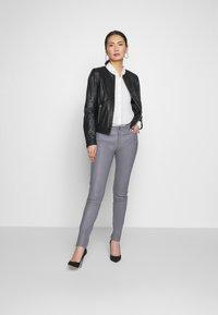 Oakwood - MICHELLE - Leather jacket - black - 1