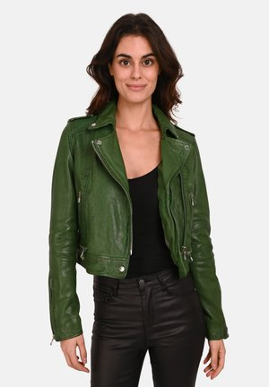 KYOTO  - Veste en cuir - green