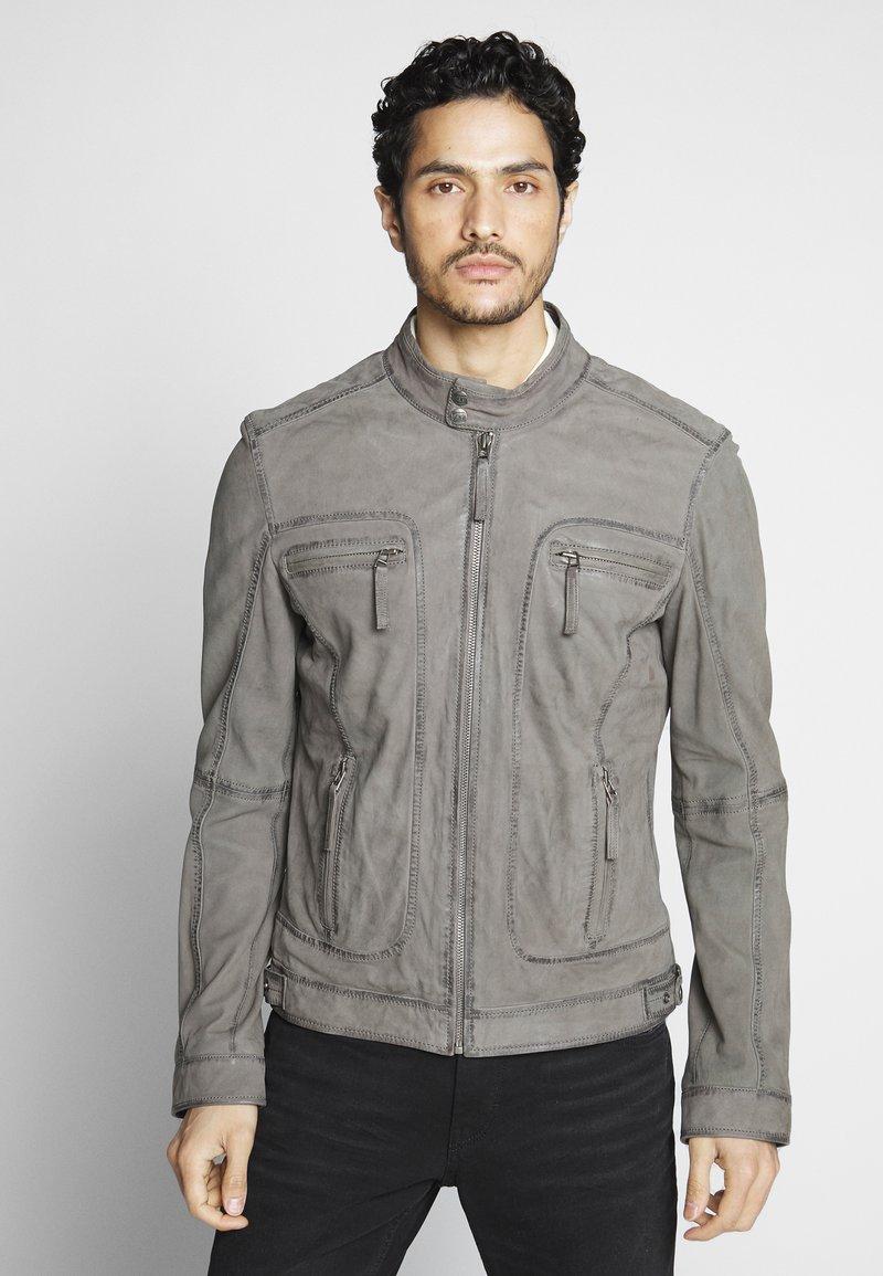 Oakwood - CASTEL - Skinnjacka - grey