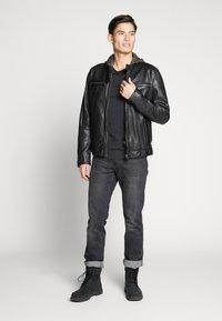 Oakwood - ALEX - Leren jas - noir - 1