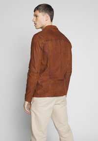 Oakwood - LEO - Veste en cuir - whisky - 2