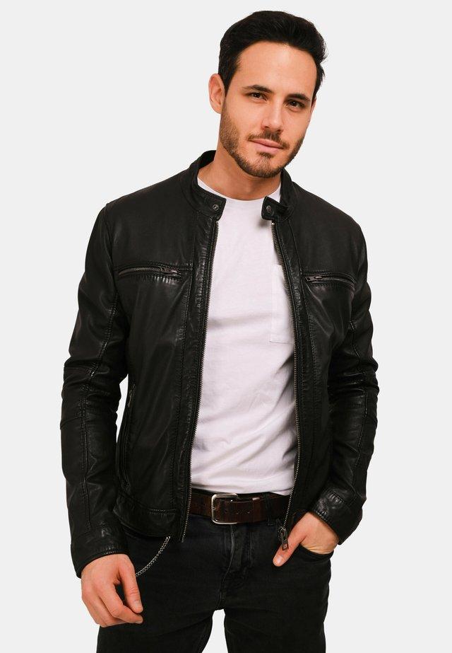 JACKSON  - Veste en cuir - black
