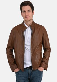 Oakwood - RON - Leren jas - cognac color - 0