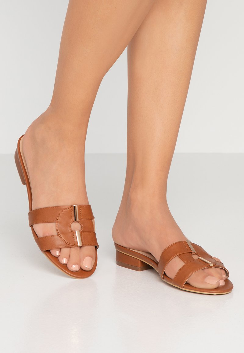 Oasis - FORMAL SLIDER - Mules - ochre