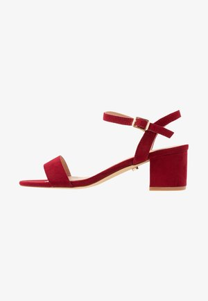 DOLLY LOW HEELED - Sandaler - berry