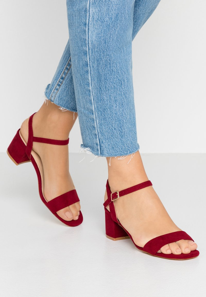Oasis - DOLLY LOW HEELED - Sandaler - berry
