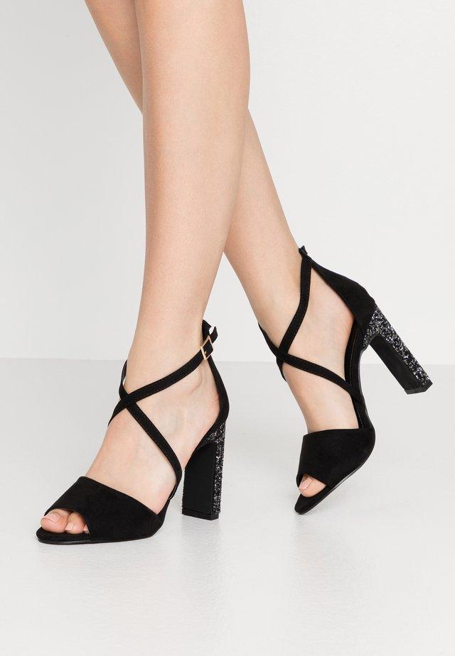 CRYSTAL ROCK GOT - High Heel Sandalette - black