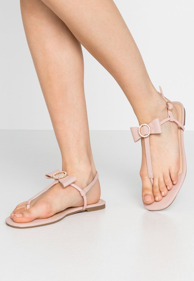 BOW TOE POST - Zehentrenner - mid neutral