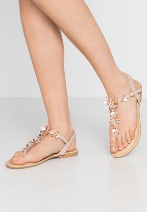 FLOWER TOE POST - Sandály s odděleným palcem - mid neutral
