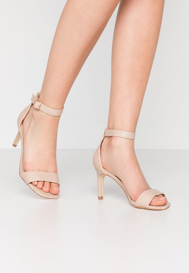 ESTELLA GOING OUT - High Heel Sandalette - light neutral