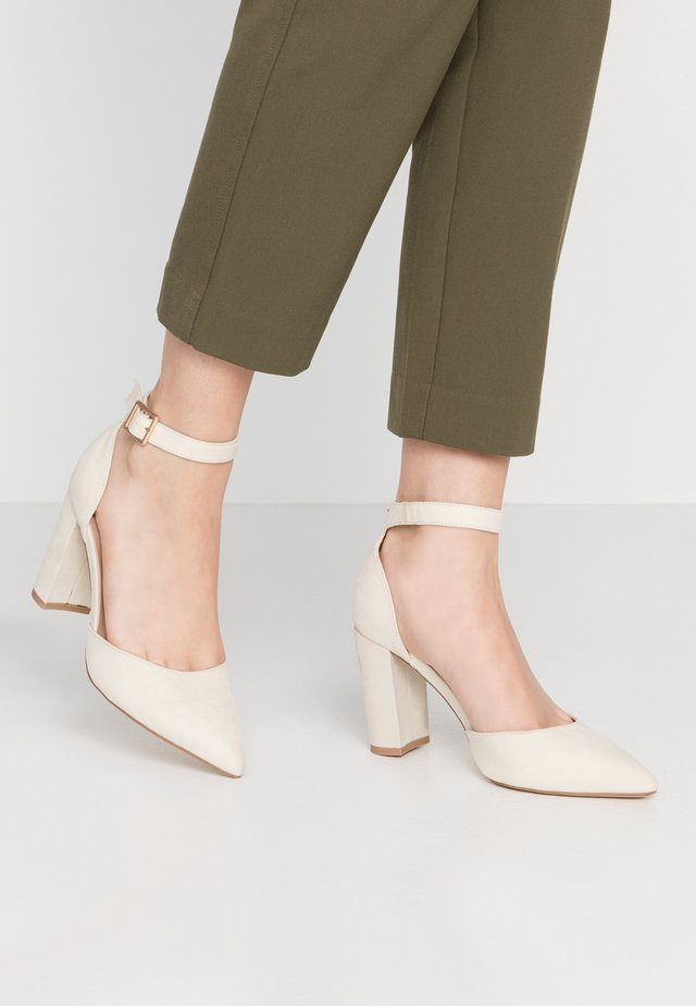 POINTED PART - High Heel Pumps - nude
