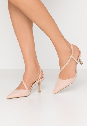 BRIDESMAIDS HEEL - Pumps - nude