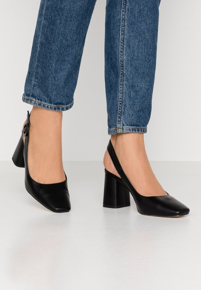 WINONA BLOCK HEEL - Avokkaat - black