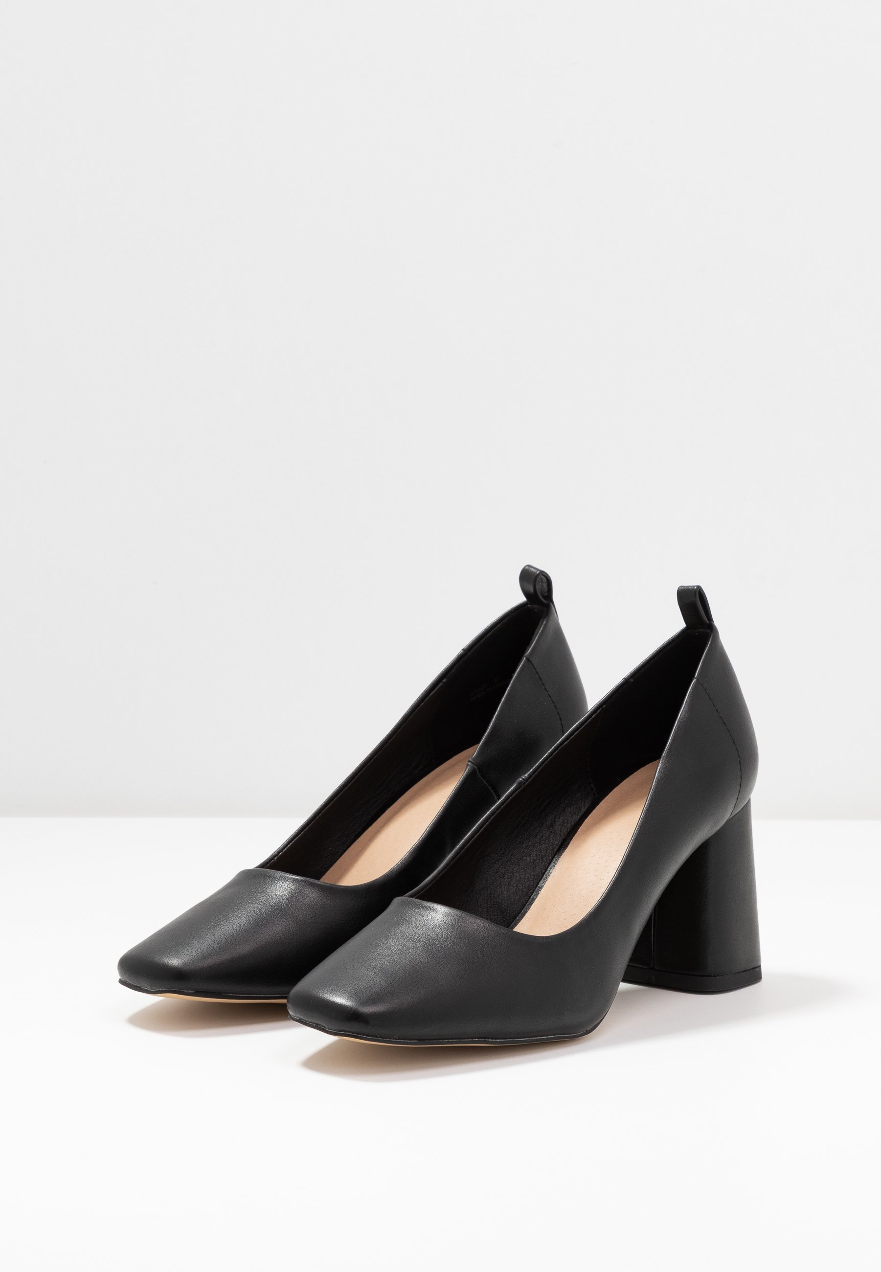 Oasis WILLOW SQUARE TOE COURT - Pumps - black