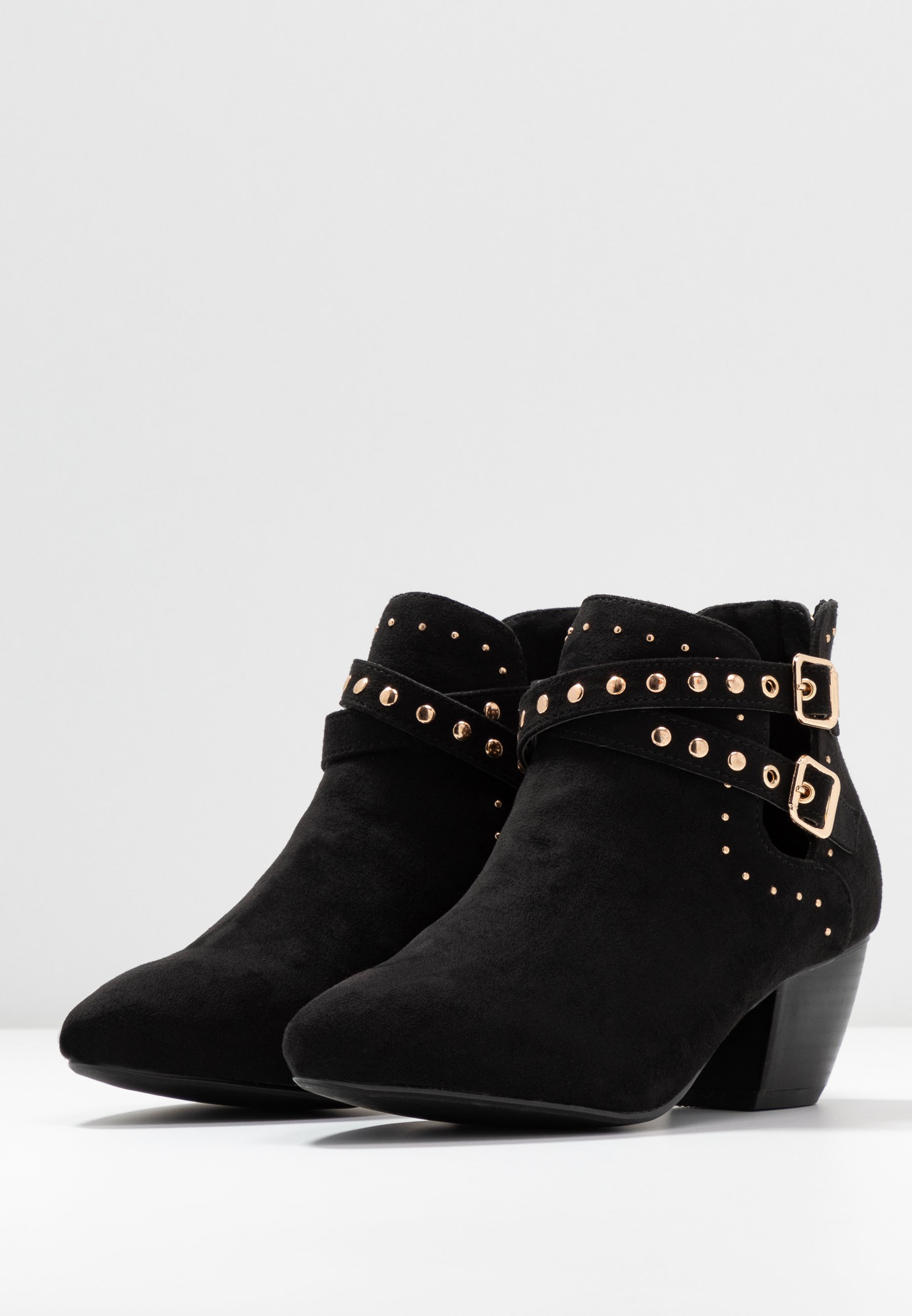 Oasis STUDDED CUT OUT - Ankle boot - black