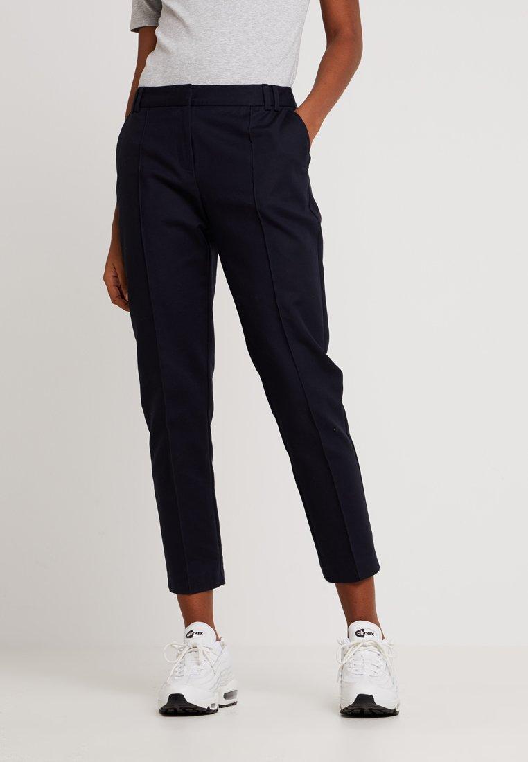 Oasis - COMPACT TROUSER - Pantalones - navy