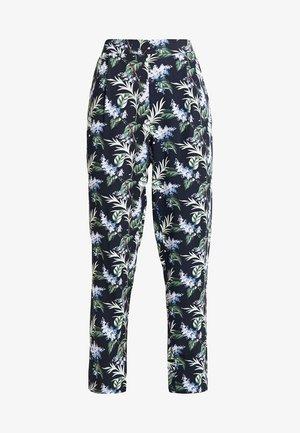 ALOHA PRINT ELASTICATED WAIST PEG TROUSER - Trousers - multi