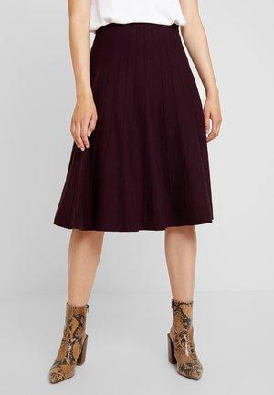 PETRA SKIRT - A-snit nederdel/ A-formede nederdele - berry