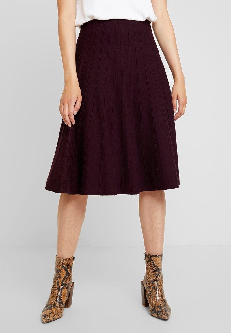 Oasis - PETRA SKIRT - A-line skirt - berry