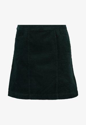 VOLUME SKIRT EXCLUSIVE - A-snit nederdel/ A-formede nederdele - deep green