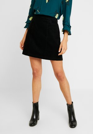 VOLUME SKIRT EXCLUSIVE - A-line skirt - black