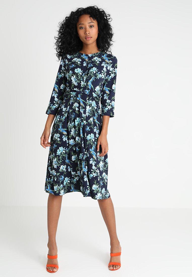Oasis - HERITAGE DRESS - Jerseykleid - multi blue