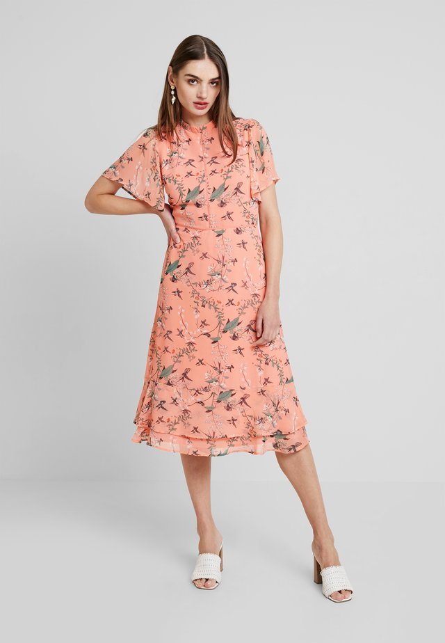 MELLOW MEADOW MIDI - Vapaa-ajan mekko - multi orange