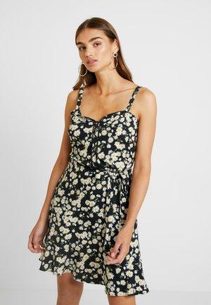 DAISY STRAPPY SUNDRESS - Sukienka letnia - multi/black