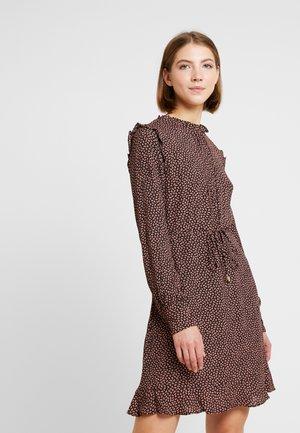 MINI LEAF PRINT DRESS - Denní šaty - multi