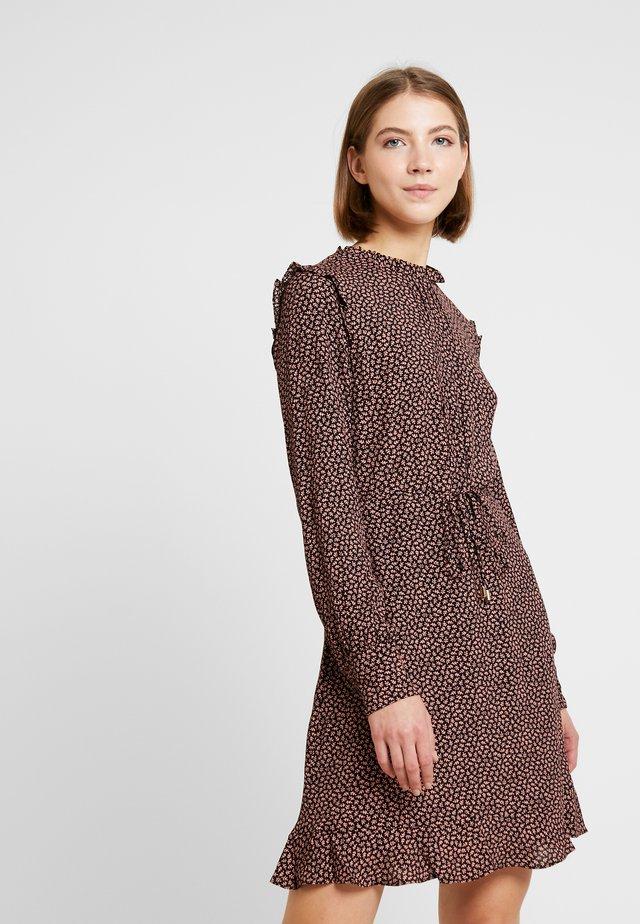 MINI LEAF PRINT DRESS - Sukienka letnia - multi