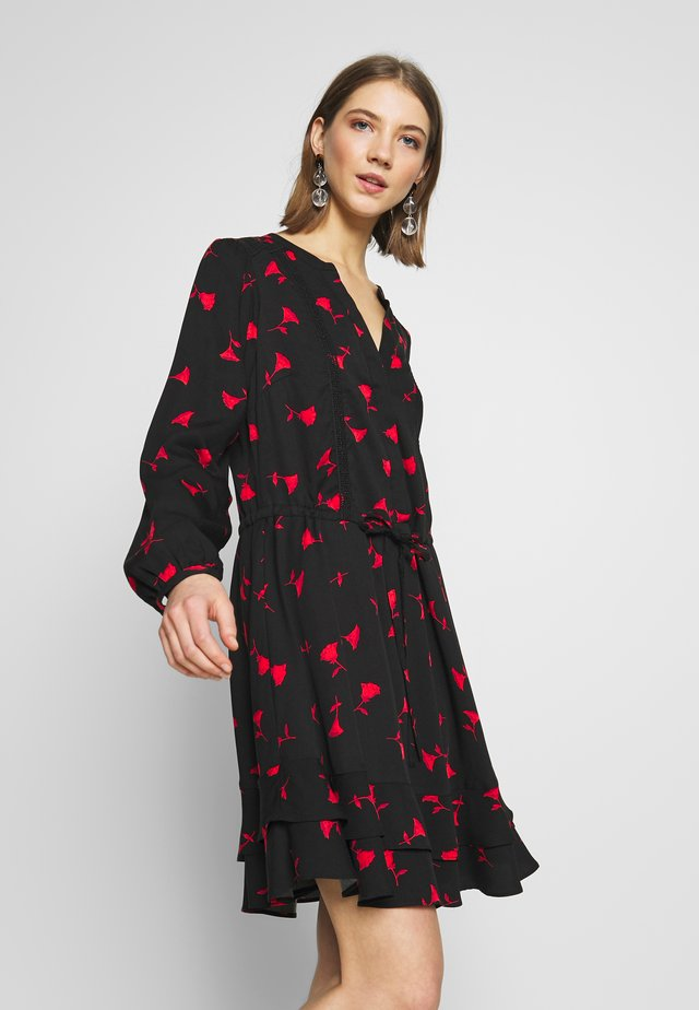 ROSE BUD SHIRTDRESS - Korte jurk - multi black