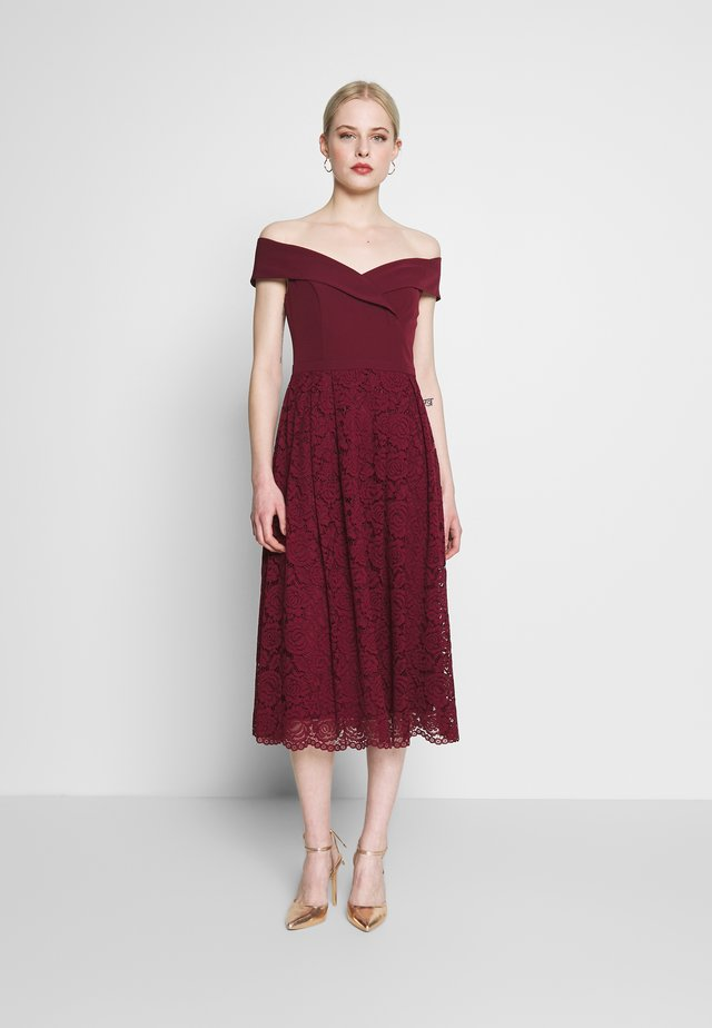 ISABELLA BARDOT - Cocktail dress / Party dress - burgundy