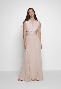 Oasis - PENNY WEAR IT YOUR WAY PLEATED MAXI - Společenské šaty - nude - 1