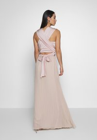Oasis - PENNY WEAR IT YOUR WAY PLEATED MAXI - Společenské šaty - nude - 2