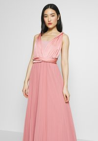 Oasis - PENNY WEAR IT YOUR WAY PLEATED MAXI - Iltapuku - pale pink - 5