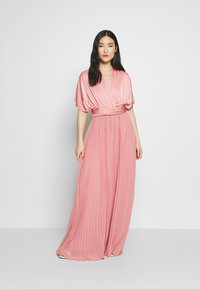 Oasis - PENNY WEAR IT YOUR WAY PLEATED MAXI - Iltapuku - pale pink - 1