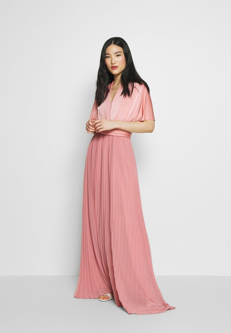 Oasis - PENNY WEAR IT YOUR WAY PLEATED MAXI - Iltapuku - pale pink