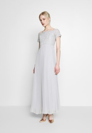 HOLLY BARDOT PLEATED MAXI - Iltapuku - pale grey