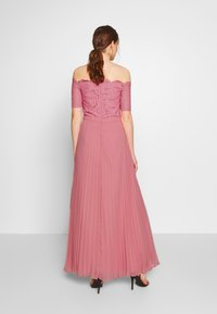 Oasis - HOLLY BARDOT PLEATED MAXI - Iltapuku - pale pink - 2