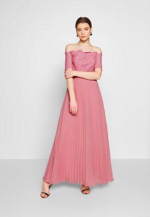 HOLLY BARDOT PLEATED MAXI - Festklänning - pale pink
