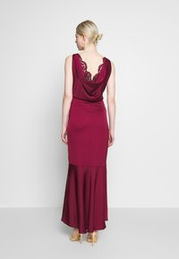 Oasis - AMELIA COWL BACK - Occasion wear - burgundy - 2